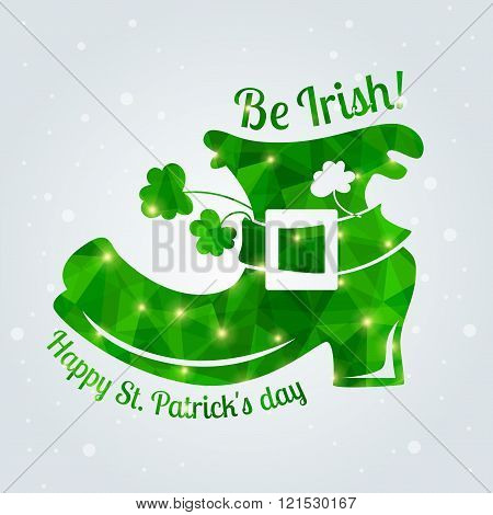 Happy St. Patrick's Day Greeting Card.