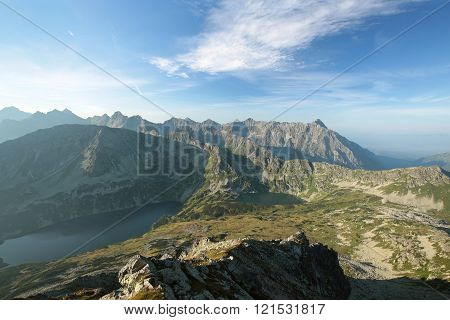 Peaks of the Carpathians