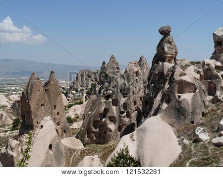 Beautiful and mysterious Cappadocia, Turkey