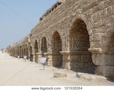 Cesarea Aqueduct, Israel