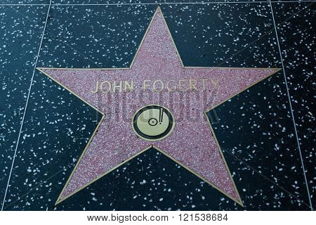 John Fogerty Hollywood Star