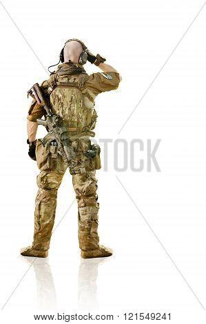 Soldier In Summer Uniform