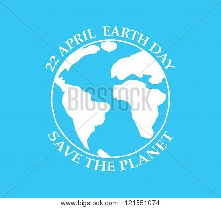 Earth Day - Vector Illustration.