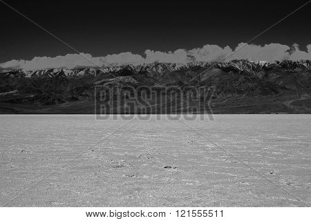 Salt Fields in Death Valley
