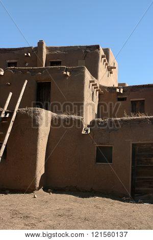 Dwelling at Taos Pueblo