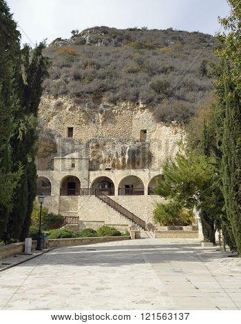 Hermit Cave Of St. Neophytos