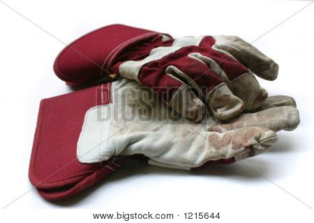 Used Gardening / Work Gloves