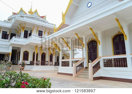 Pakse, Laos - April 14, 2012 : The Top Floor Of Champasak Palace. Lt Was Originally Constructed To B