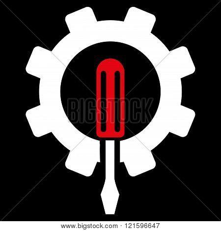 Engineering Flat Vector Symbol