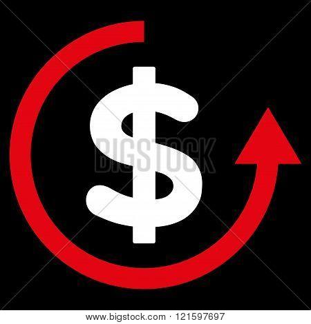 Refund Flat Vector Symbol