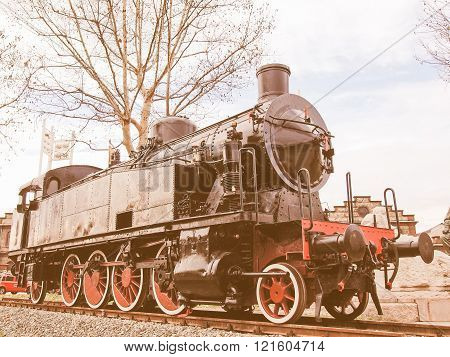 Steam Train Vintage