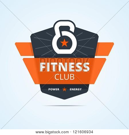 Fitness club logo.