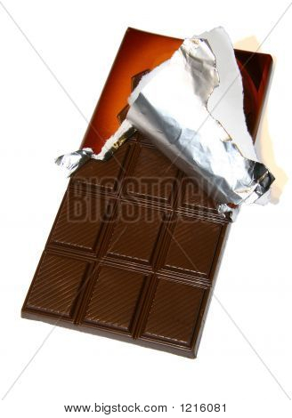 The Opened Chocolate Bar