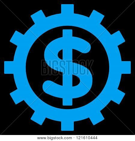 Financial Industry Flat Vector Symbol
