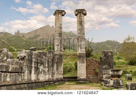 The Temple Of Artemis, Sardes Ancient City