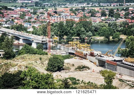 Bridge Under Construction, Industrial Architecture
