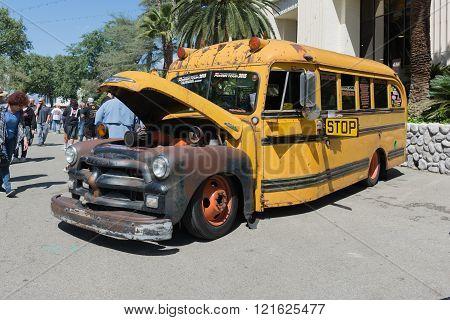 Hot Rod School Bus