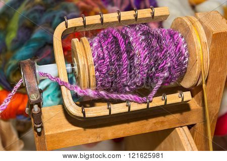 Knitting Bobbin To Wind Wool Thread
