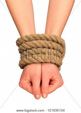 Tied hands