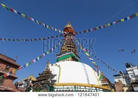 Kathesimbu Stupa in Kathmandu, Nepal