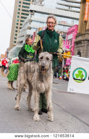 St. Patrick's Day Parade In Toronto
