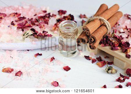 Aroma spa treatment.