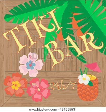 Hawaii Bar Poster