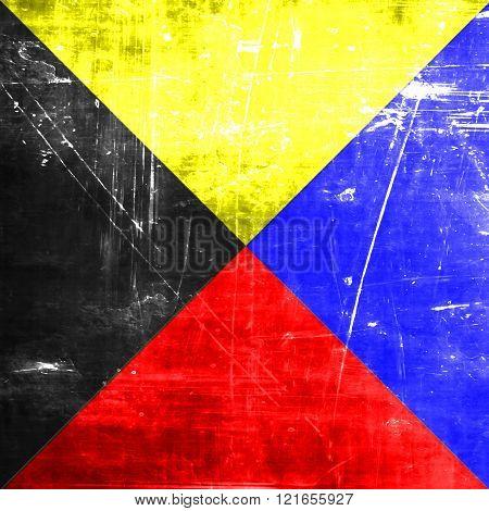 Zulu maritime signal flag