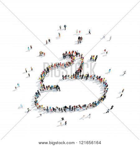 group people  shape  turd cartoon