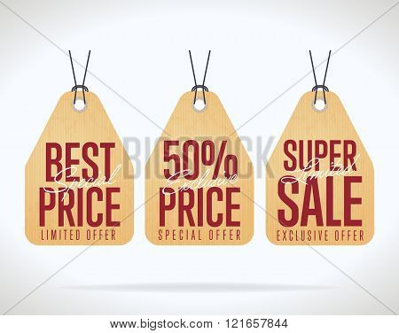 Sale Tag Vector Isolated Sale Vector  Photo  Bigstock