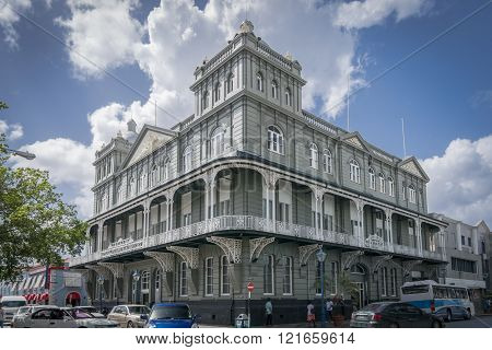 Mutual Life Assurance Society building in Barbados