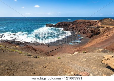 El Golfo, Lanzarote, Canary Islands, Spain