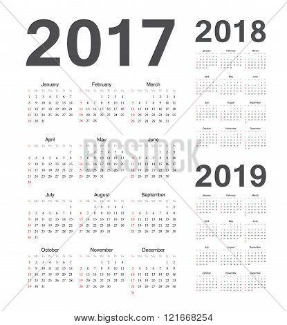 Simple European 2017, 2018, 2019