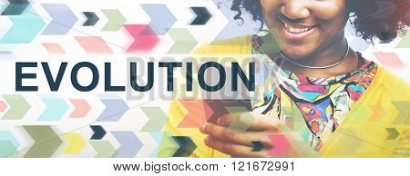 Evolution Revision Innovation Development Evolve Concept