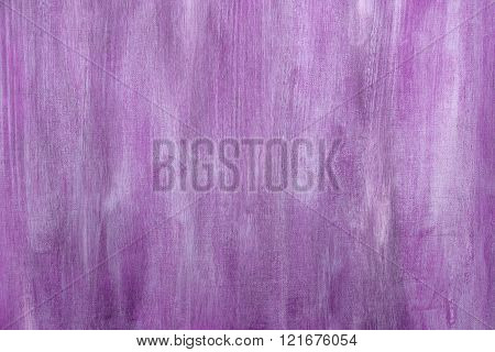 Purple Painted Artistic Canvas