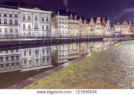 Gent. Central City Canal.