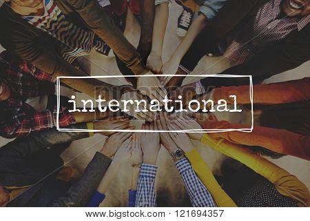 International Community Global Worldwide Concept