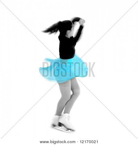 figure skater performing