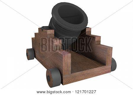 model mortar