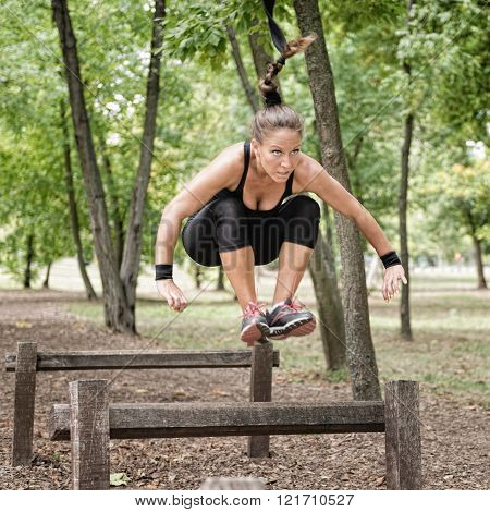 Fitness Trail Obstacles