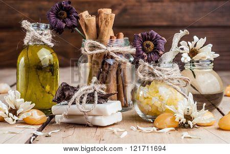 Spa, Oil, Bath Salt, Spices, Herbs, Handmade Soaps
