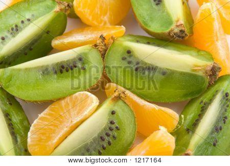 Mandarin And Kiwi