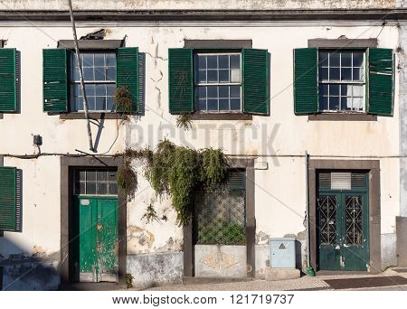 Abondoned european building