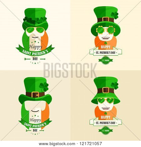 Set Lettering St Patricks Day