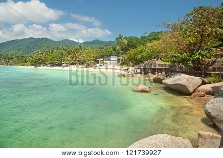 Beautiful Tropical Beach. Thailand, Koh Phangan