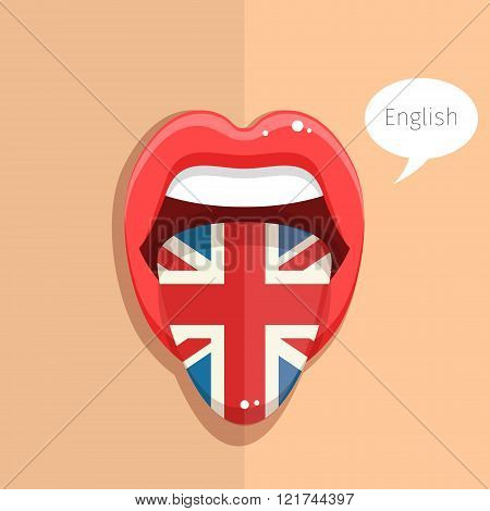 English language concept.