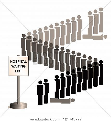 Sepia Hospital Waiting List