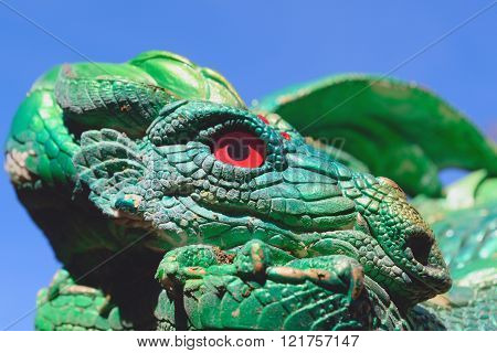 Red eye dragon