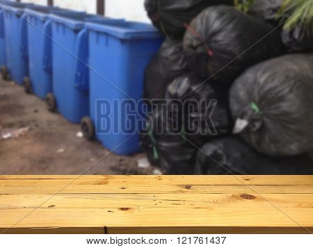 The Pile Of Garbage As For Total Waste