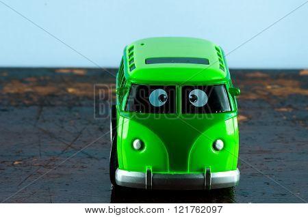 Detail of a Hippe Van